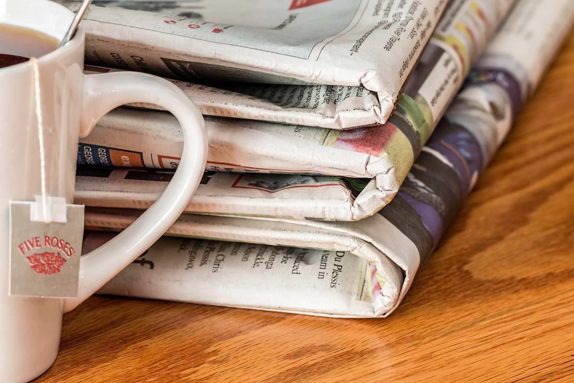Zeitungs-Anzeige und Zeitungs-Werbung in Freiburg, Stuttgart, Staufen und Remseck